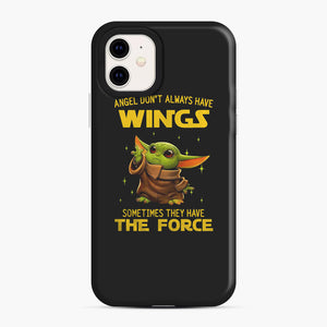 Baby Yoda Angel Don't Have Wings The Force Star Wars iPhone 11 Case, Snap Case | Webluence.com