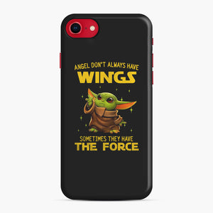 Baby Yoda Angel Don't Have Wings The Force Star Wars iPhone 7/8 Case, Snap Case | Webluence.com