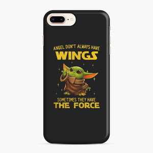 Baby Yoda Angel Don't Have Wings The Force Star Wars iPhone 7,8 Plus Case, Snap Case | Webluence.com