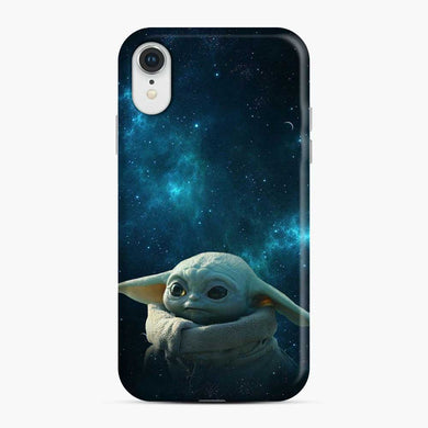 Baby Yoda Dark Sky iPhone XR Case, Snap Case