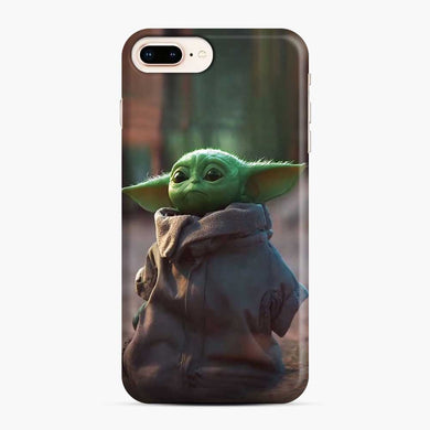 Baby Yoda Green iPhone 7 Plus / 8 Plus Case, Snap Case