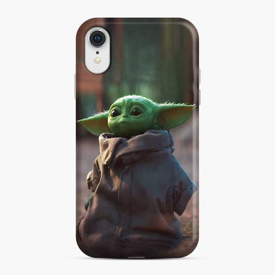 Baby Yoda Green iPhone XR Case, Snap Case