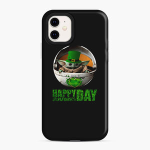 Baby Yoda Happy St Patrick's Day iPhone 11 Case, Snap Case | Webluence.com