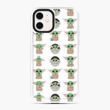 Load image into Gallery viewer, Baby Yoda Meme Cute Pattern iPhone 11 Case