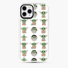 Load image into Gallery viewer, Baby Yoda Meme Cute Pattern iPhone 11 Pro Case