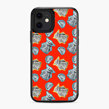 Load image into Gallery viewer, Baby Yoda Pattern A Burger Red iPhone 11 Case