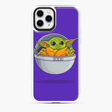 Load image into Gallery viewer, Baby Yoda Sad iPhone 11 Pro Case