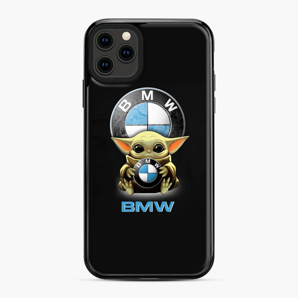 Baby Yoda hug BMW iPhone 11 Pro Max Case, Black Plastic Case | Webluence.com