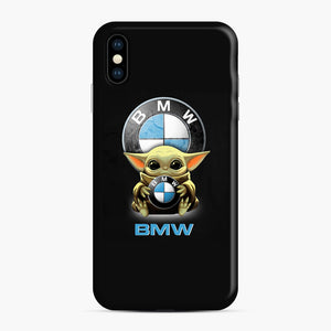 Baby Yoda hug BMW iPhone XS Max Case, Snap Case | Webluence.com