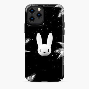 Bad Bunny Logo Leaf Galaxy White Black iPhone 11 Pro Case