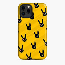 Load image into Gallery viewer, Bad Bunny Yellow Pattern Logo iPhone 11 Pro Case