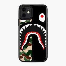 Load image into Gallery viewer, Bape Shark Pattern iPhone 11 Case