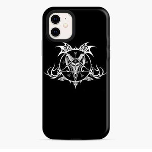Baphomet Demon Goat Head Hand iPhone 11 Case