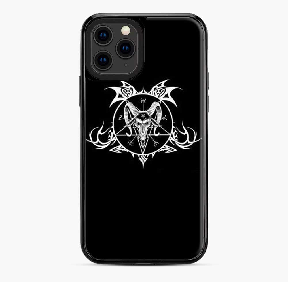 Baphomet Demon Goat Head Hand iPhone 11 Pro Case