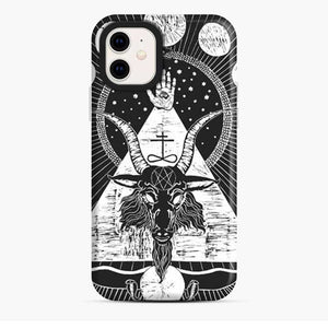 Baphomet On Black iPhone 11 Case