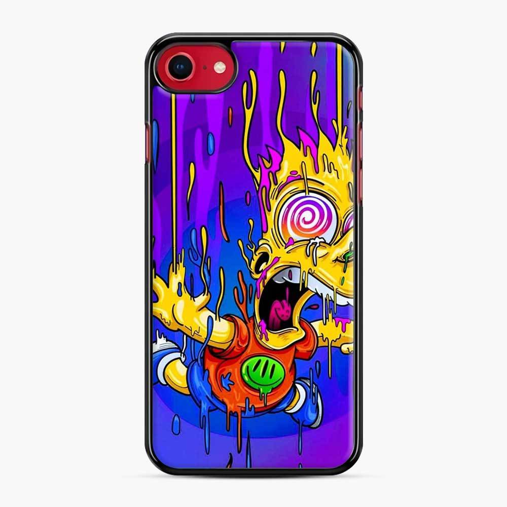 Bart Simpson iPhone 7 / 8 Case, Black Plastic Case