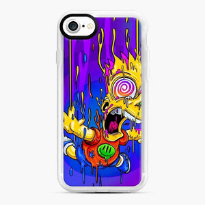 Bart Simpson iPhone 7 / 8 Case, White Rubber Case