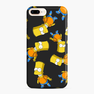 Bart Simpson iPhone 7 Plus/8 Plus Case, Snap Case | Webluence.com