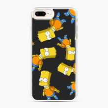 Load image into Gallery viewer, Bart Simpson iPhone 7 Plus/8 Plus Case, White Plastic Case | Webluence.com