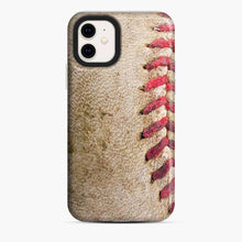 Load image into Gallery viewer, Baseball Ball Brown iPhone 11 Case