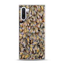 Load image into Gallery viewer, Bee Colony Samsung Galaxy Note 10 Case, White Rubber Case | Webluence.com