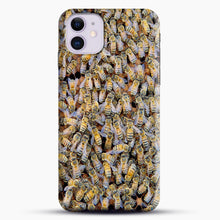 Load image into Gallery viewer, Bee Colony iPhone 11 Case.jpg, Snap Case | Webluence.com