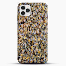 Load image into Gallery viewer, Bee Colony iPhone 11 Pro Case, Snap Case | Webluence.com