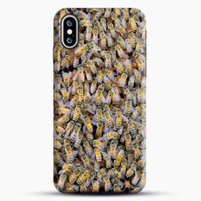 Load image into Gallery viewer, Bee Colony iPhone XS Max Case, Snap Case | Webluence.com