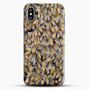 Bee Colony iPhone XS Max Case, Snap Case | Webluence.com
