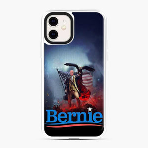 Bernie Sanders American Flag And Eagle iPhone 11 Case