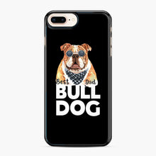 Load image into Gallery viewer, Best Bull Dog Dad iPhone 7 Plus/8 Plus Case, Black Plastic Case | Webluence.com