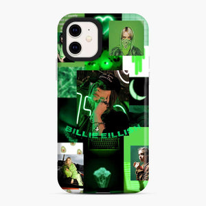 Billie Eilish Green Love Collage iPhone 11 Case, Snap Case