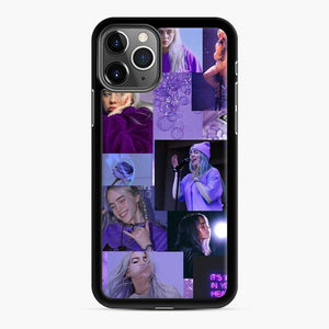 Billie Eilish It's All In Your Head iPhone 11 Pro Case, Black Rubber Case