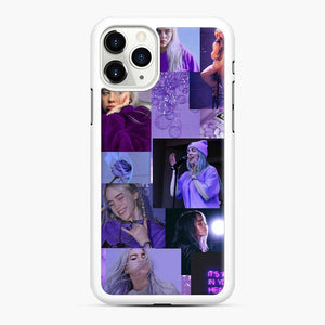 Billie Eilish It's All In Your Head iPhone 11 Pro Case, White Rubber Case