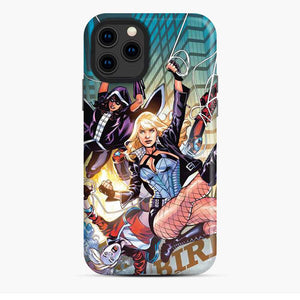 Birds Of Prey Harley Quinn Huntress Black Canary Comic Ver iPhone 11 Pro Case