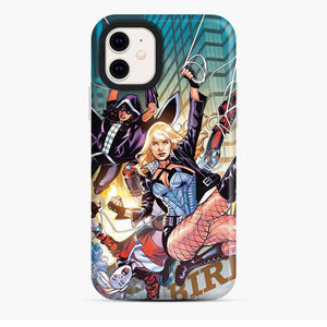 Birds Of Prey Harley Quinn Huntress Black Canary Comic Ver iPhone 11 Case