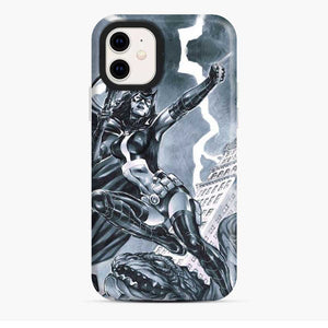 Birds Of Prey Huntress Drawing iPhone 11 Case