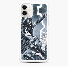 Load image into Gallery viewer, Birds Of Prey Huntress Drawing iPhone 11 Case