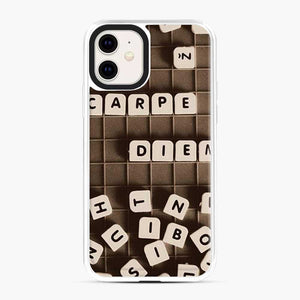 Black Mahjong Writing iPhone 11 Case