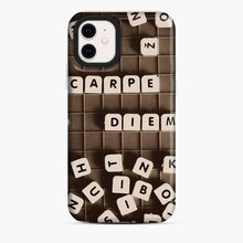 Load image into Gallery viewer, Black Mahjong Writing iPhone 11 Case