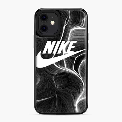 Black Nike Wallpaper iPhone 11 Case, Black Plastic Case | Webluence.com