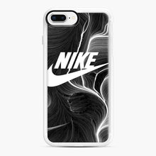 Load image into Gallery viewer, Black Nike Wallpaper iPhone 7 Plus/8 Plus Case, White Rubber Case | Webluence.com