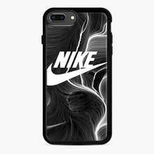 Load image into Gallery viewer, Black Nike Wallpaper iPhone 7 Plus/8 Plus Case, Black Rubber Case | Webluence.com