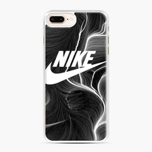 Load image into Gallery viewer, Black Nike Wallpaper iPhone 7 Plus/8 Plus Case, White Plastic Case | Webluence.com