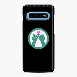 Black Owned 11 Samsung Galaxy S10 Case, Black Plastic Case
