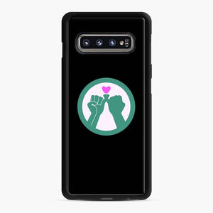 Black Owned 11 Samsung Galaxy S10 Case, Black Rubber Case