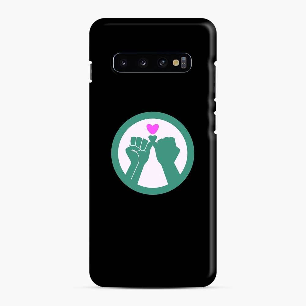 Black Owned 11 Samsung Galaxy S10 Case, Snap Case