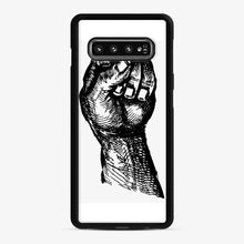 Load image into Gallery viewer, Black Owned 20 Samsung Galaxy S10 Case, Black Rubber Case