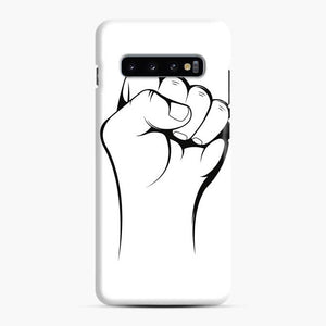 Black Owned Business Fist Of Power End Racism 27 Samsung Galaxy S10 Case, Snap Case