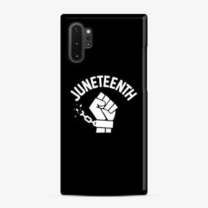 Black Owned Businesses Juneteenth Samsung Galaxy Note 10 Plus Case, Snap Case